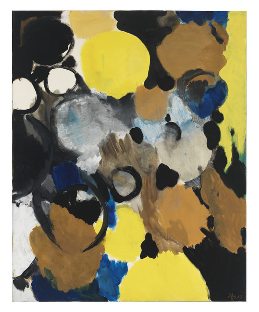 , 'Dominant Gelb,' 1959, Ludorff