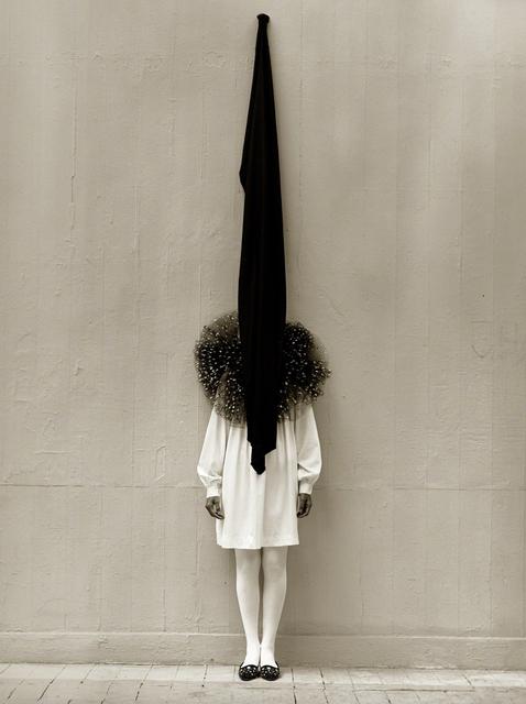 , 'Leslie Weiner, Yohji Yamamoto, London (Flag),' 1989, Holden Luntz Gallery