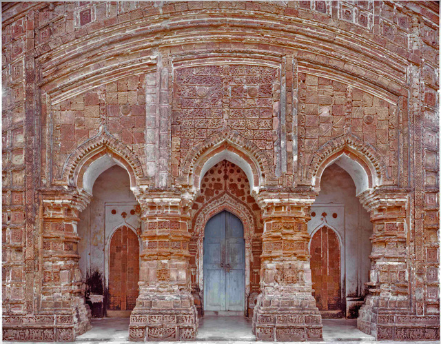 , '3 Portals, 16th Century Terracotta Temple, Attpur, West Bengal, India,' 1998, Benrubi Gallery
