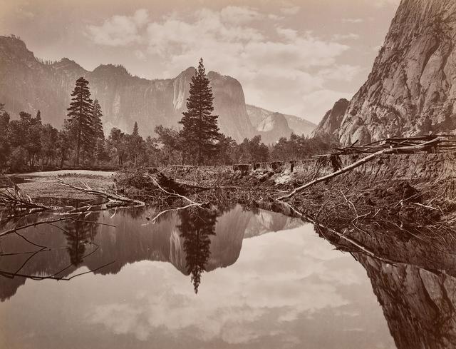 , 'Looking down Yosemite Valley,' ca. 1872, Robert Koch Gallery
