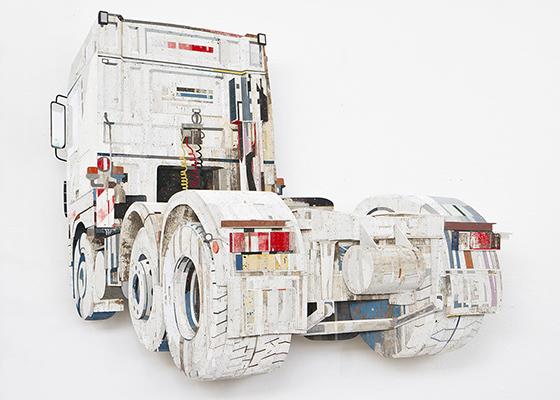 , 'Truck Wash,' 2019, Galerie Ron Mandos