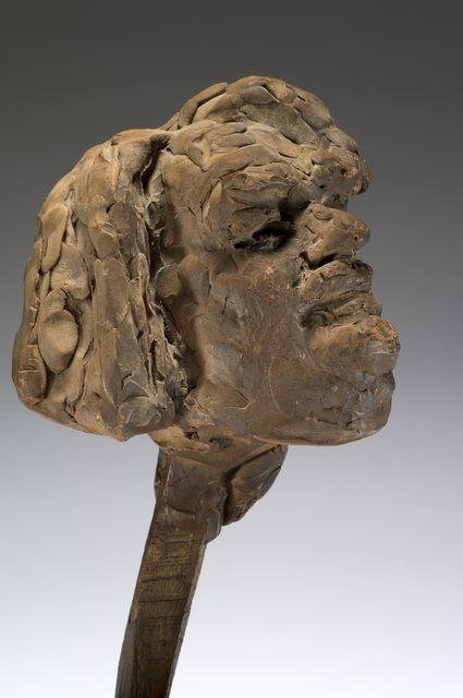 , 'Balzac, étude définitive pour la tête, variante (Balzac, final study for head, variant),' c. 1897, Musée Rodin