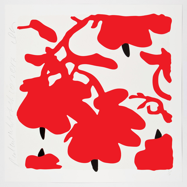 , 'LANTERN FLOWERS, RED AND WHITE,' 2017, Corridor Contemporary