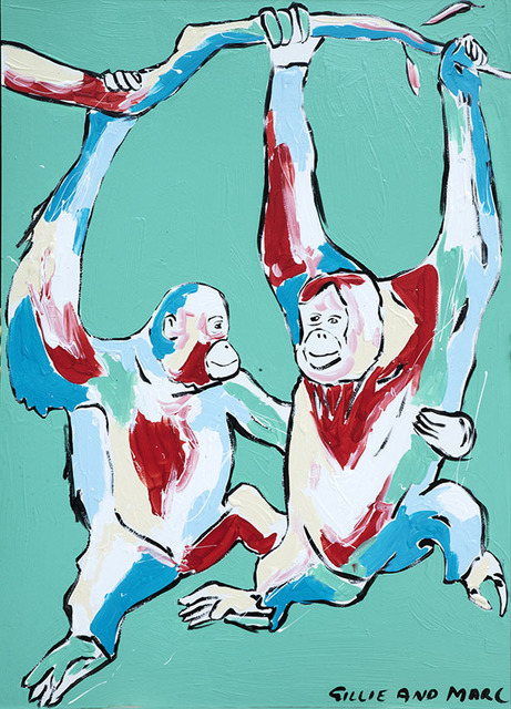 Gillie and Marc Schattner, 'They were happy to just hang around with each other ', 2018, Gillie and Marc Art Gallery