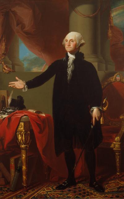 Gilbert Stuart, 'George Washington', 1796, Brooklyn Museum