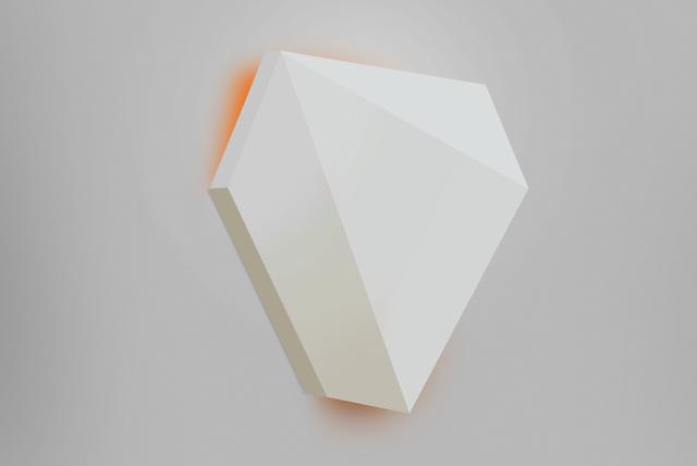 , 'Peach Twist,' 2011, Marc Straus