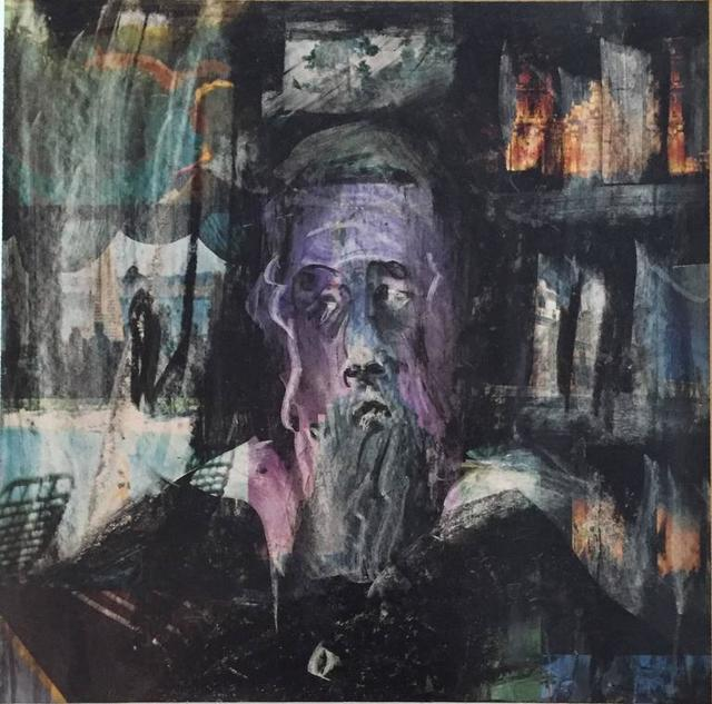 Unknown, 'Modernist Rabbi - Mixed Media', 20th Century, Lions Gallery