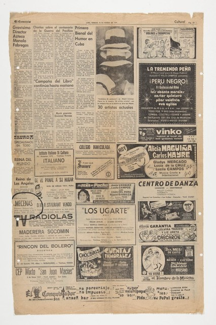 , 'Mecenas,' 1979, Henrique Faria   Buenos Aires