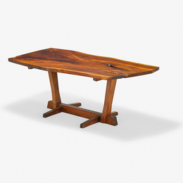 Conoid dining table, New Hope, PA