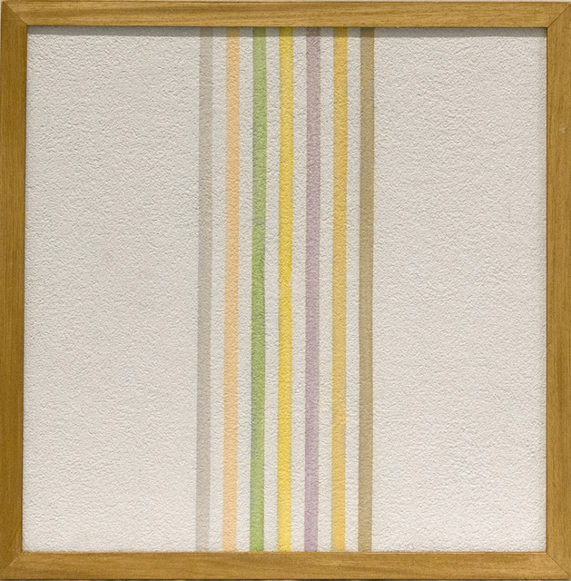, 'Grammature di colore - Supporto intonaco,' 1973, Primo Marella Gallery