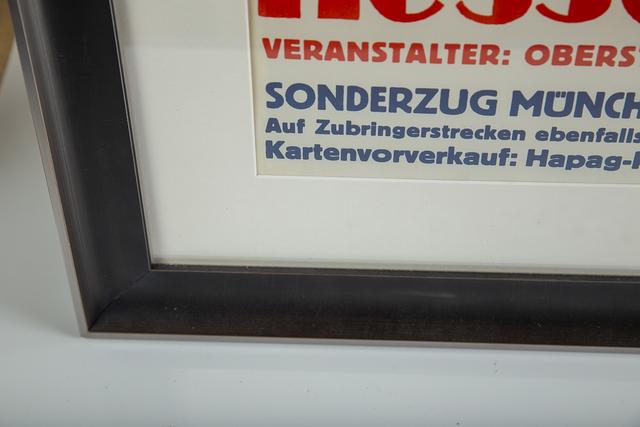 Klotz & Kienast, 'Kesselberg-Rennen Vintage Racing Poster Germany Klotz Kienast Geo Ham', 1935, Print, Home & GardenVintage Race/Movie Posters, Modern Artifact