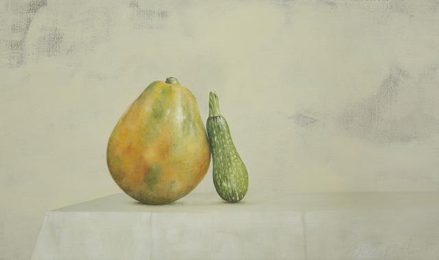 , 'Papaya and Zucchini,' 2015, Galerie Huit