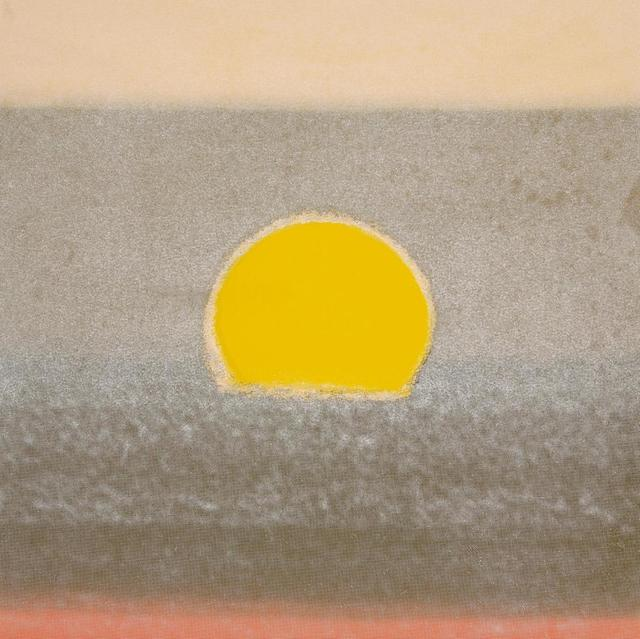Andy Warhol, 'Sunset (Yellow) by Andy Warhol', 1972, Print, Colored Screenprint on Paper, Revolver Gallery