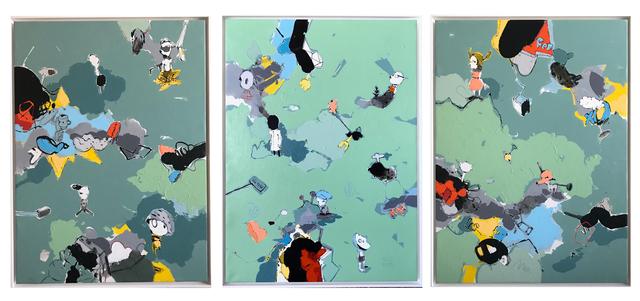 , 'Triptych ,' 2018, Black Ship Gallery