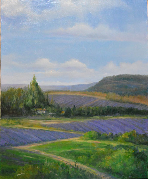 , 'Lavender Greatness ,' , The Loft Fine Art