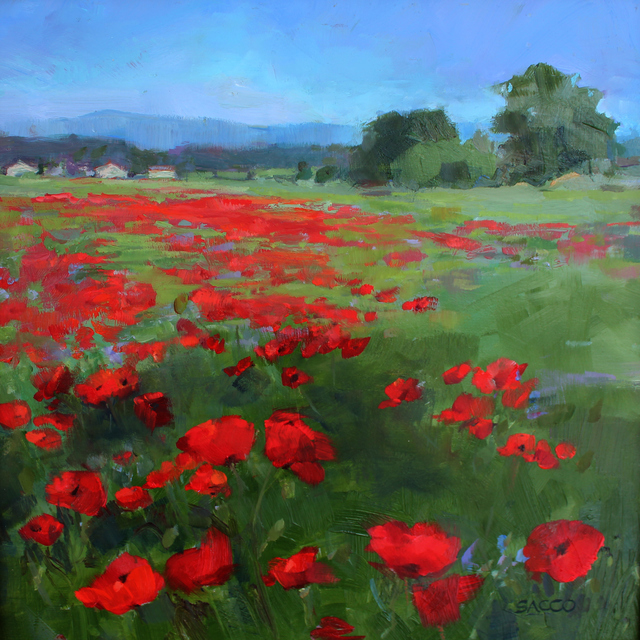 , 'Poppy Field,' 2017, Cerulean Arts