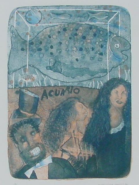 Maximino Javier, 'Acuario ', 1996, Galería Quetzalli