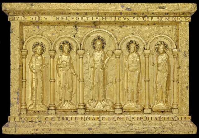 'Basel Altar', 11th century, Musée de Cluny