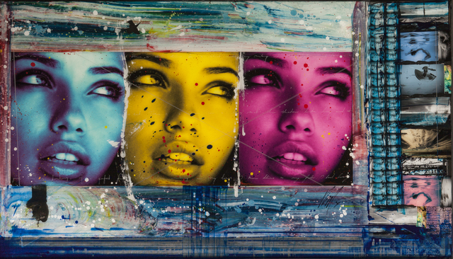 , 'Adriana triptych,' 2017, Chase Contemporary