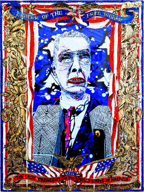 , 'American Circus - The Last President of the United States of America,' 2014, CONNERSMITH.