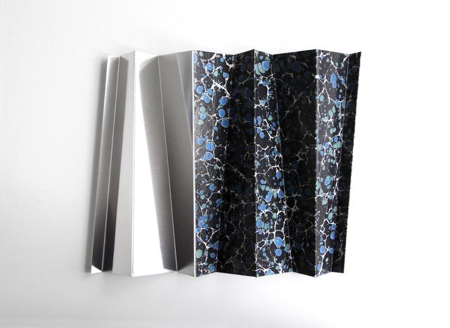 , 'Roof  Study (Tent Monument Silver) ,' 2018, Galerie Thomas Bernard
