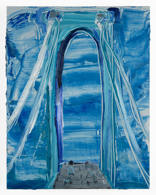 , 'Whitestone,' 2017, FRED.GIAMPIETRO Gallery