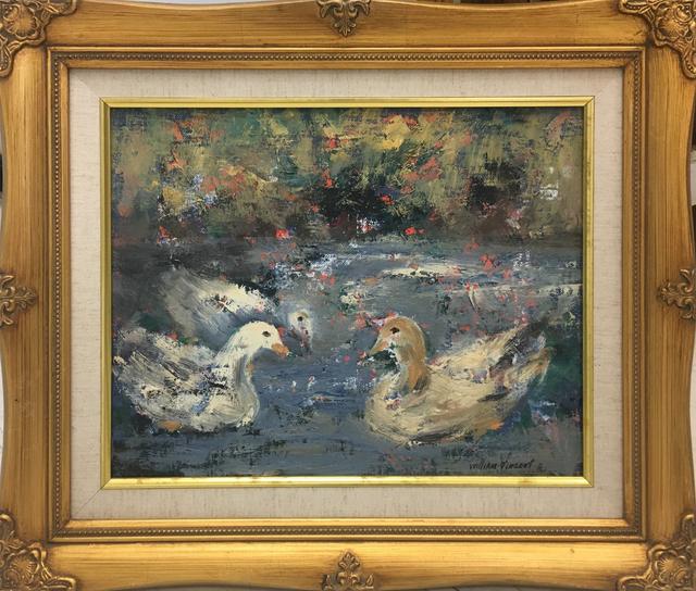 , 'Ducks,' , Baterbys Art Gallery