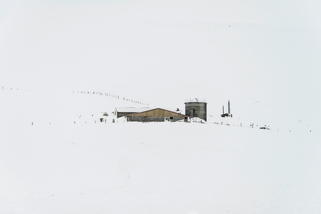 , 'Snow Drawing (no 5149) Barn with Silo,' , Fabrik Projects Gallery