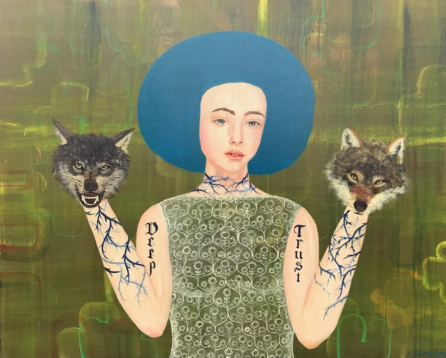 Anne Siems, 'Deep Trust', 2020, Bruce Lurie Gallery