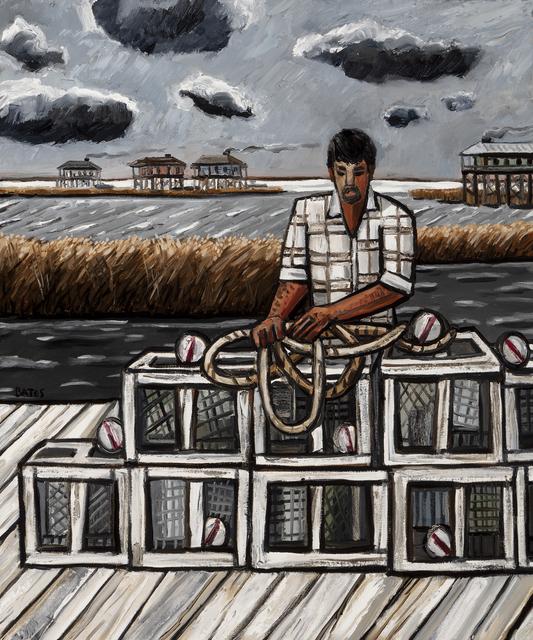 , 'Crab Traps,' 2017, Arthur Roger Gallery