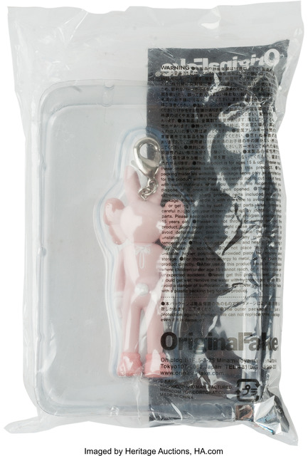 KAWS, 'Accomplice (pink), keychain', 2009, Other, Painted cast vinyl, Heritage Auctions
