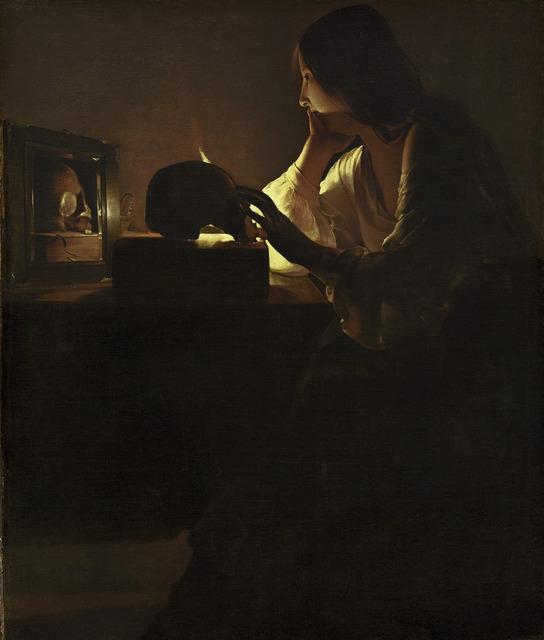 Georges de La Tour, 'The Repentant Magdalen,' ca. 1635-40, National Gallery of Art, Washington, D.C.
