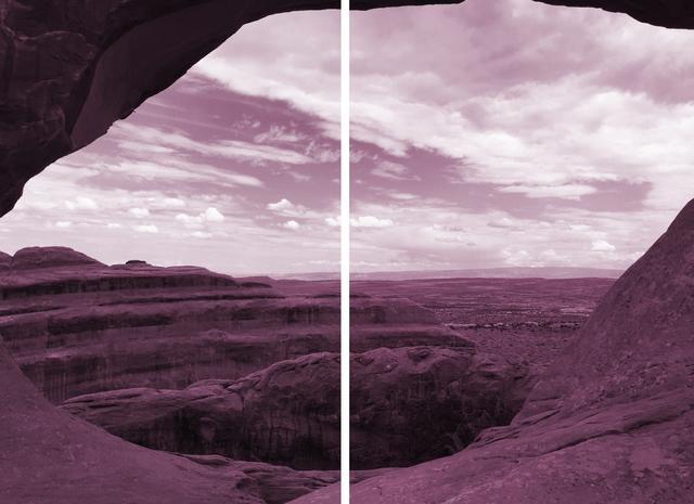 , 'Magenta Landscape #1,' 2017, Pentimenti Gallery