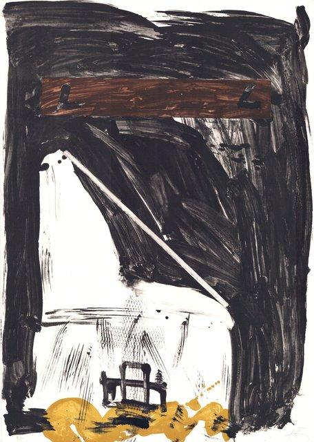 Antoni Tàpies, 'Variations VIII: Grand Chaise', 1980-1990, ARTEDIO