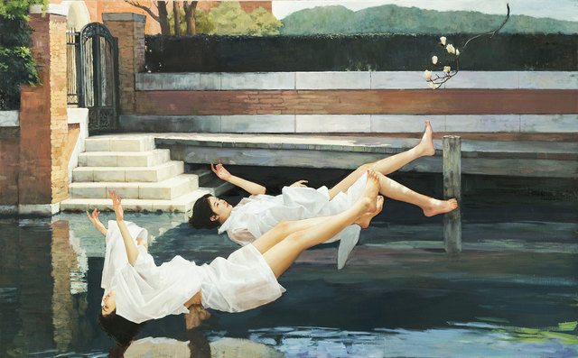 , 'Falling Women,' 2018, Pontone Gallery