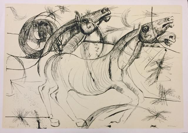 Bruno Cassinari, 'Horses', 20th century, Wallector