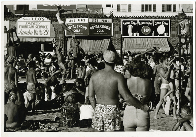 , 'Muscle Beach,' 1949, Be-hold