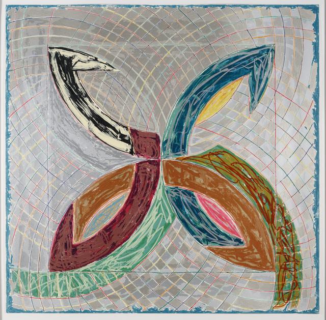 Frank Stella, 'Polar Co-ordinates for Ronnie Peterson V,' 1965, Dallas Museum of Art