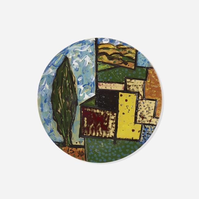 Italo Scanga, 'Untitled (plate)', 1990, Wright