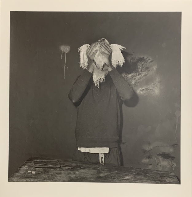 Roger Ballen, 'Little chicken mask', 2002, Aura Gallery