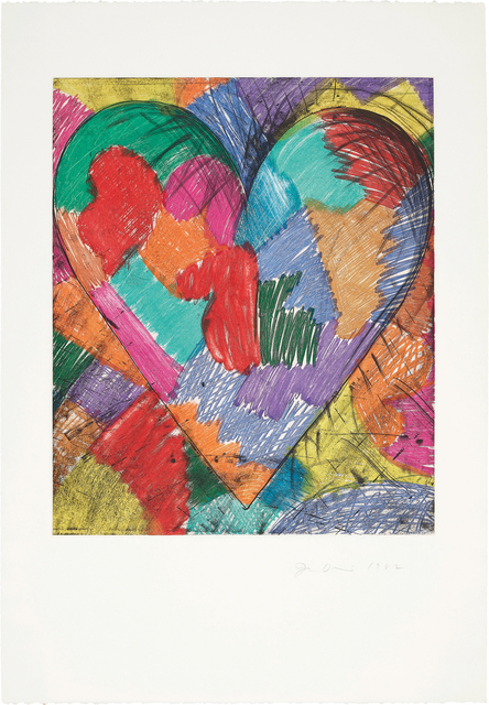 Jim Dine, 'The Heart Called Paris Spring', 1982, Phillips