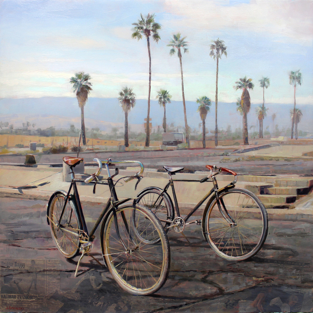 , 'Neighborhood Ride,' 2016, Sue Greenwood Fine Art