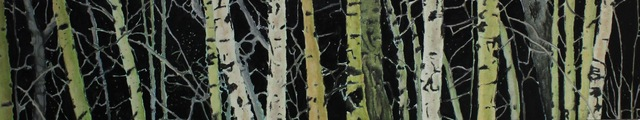 Tom Gale, 'Night Aspens', 2016, The Front Gallery