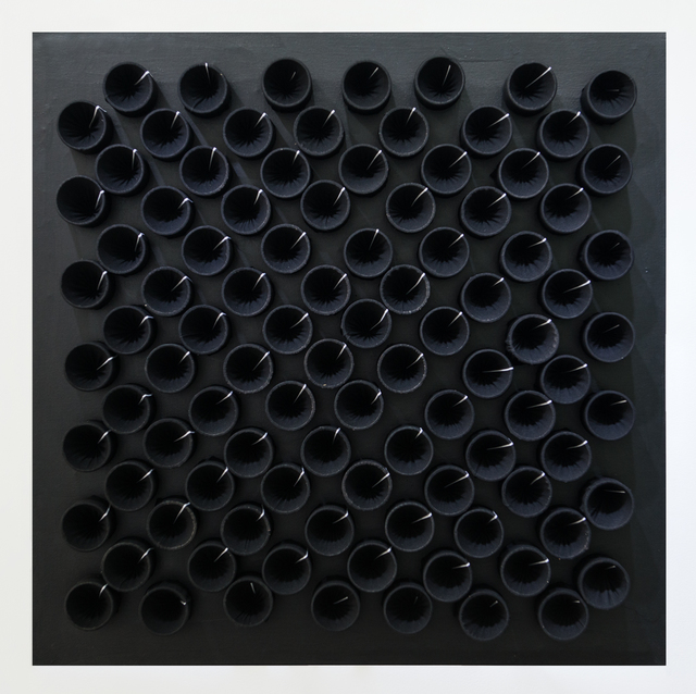 , 'Actual Infinity Black and White,' 2001, GR Gallery