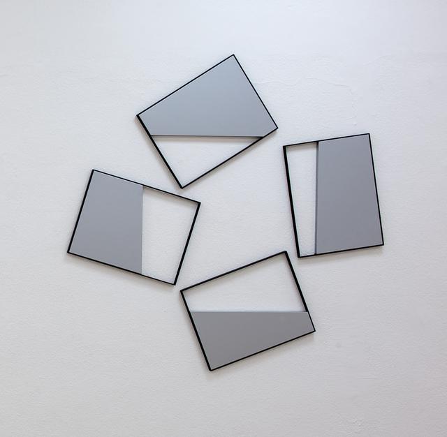 """, 'Quadri Comunicanti """"out"""",' 2008, A arte Invernizzi"""