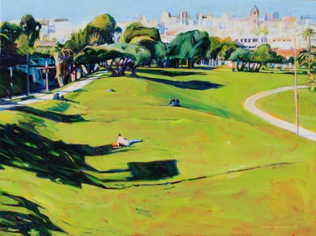 Miles Hermann, 'Dolores Park #3', Tim Collom Gallery