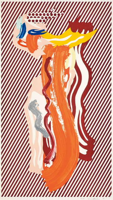 Roy Lichtenstein, 'Nude', 1989, Painting, Lithograph, waxtype, woodcut and screenprint on saunders waterford paper, Seoul Auction