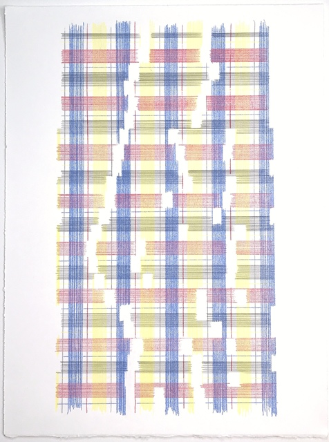 Laura Kaufman, 'Measure Of  The Universe (Plaid)', 2018, MARQUEE PROJECTS