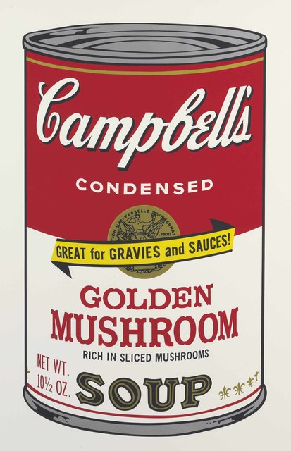 Andy Warhol, 'Golden Mushroom, from Campbell's Soup II', 1969, Christie's