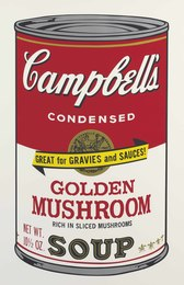Golden Mushroom, from Campbell's Soup II